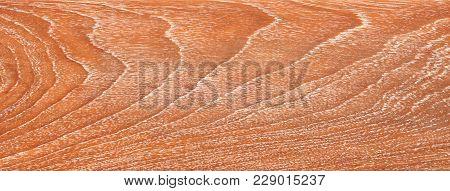Teak Wood Pattern, Teak Wood Texture, A Closeup Photo Image On Teak Wood Plate Present A Detail Of P