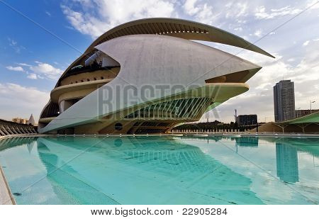 Hemisferic In The City Of Arts And Sciences Valencia, Spain