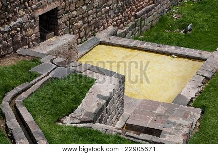Water source of the Coricancha