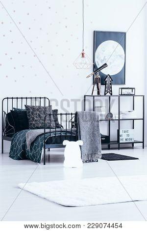 Astronomic Kid's Bedroom Interior
