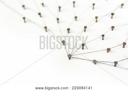Linking Entities.social Media, Internet Communication Abstract. A Small Network Connected To A Large