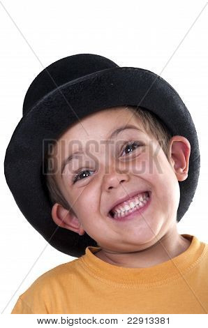 Child With A Top Hat