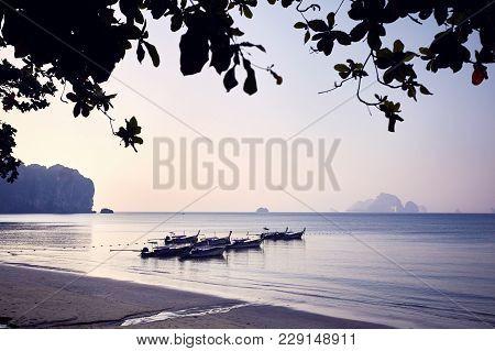 Boat In Andaman Sea