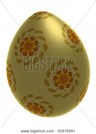 Isolated Decorative Egg