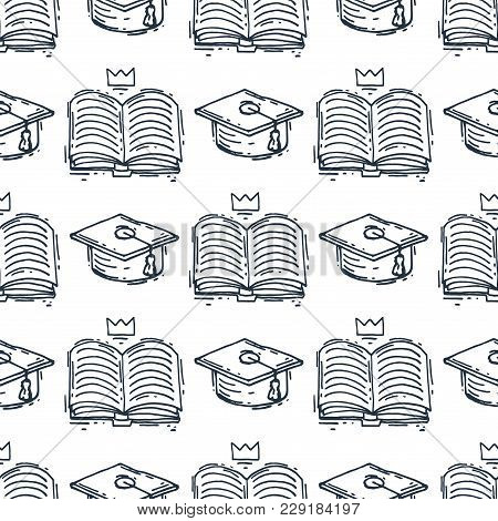 Love Reading Motivation Quote Phrases Badge Logo Bubble On Book Vector Illustration. Reading Motivat