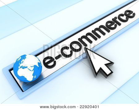 abstract assress line E-commerce (done in 3d) poster