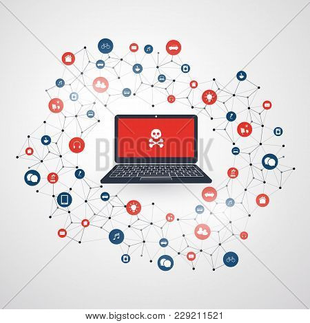 Spreading Malware Infection Causing Damage And Information Loss Due To Network Vulnerability - It Se