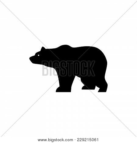 Bear Icon Isolated On White Background. Bear Icon Modern Symbol For Graphic And Web Design. Bear Ico