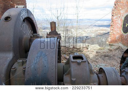 Mount Beacon Incline Railway Abandoned Engine Room