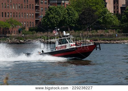 Jersey City Fire Department Boat