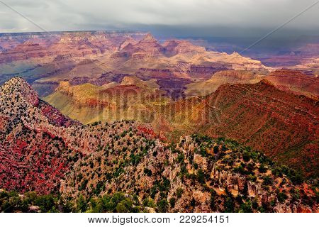 The Grand View Of The Grand Canyon