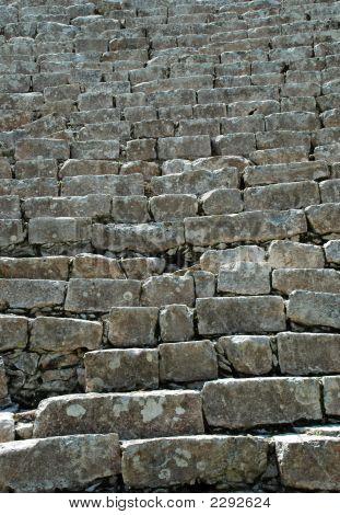 Ancient Steps In Mayan Ruins