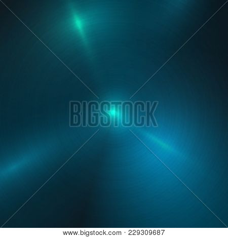 Blue Metal Abstract Texture Background. Brushed, Polished, Chrome, Silver, Steel, Aluminum. For Desi