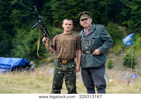 July 16, 2017, This Holiday Is Held Every Year In The Tract Near The Village Of Lipa, Ukraine