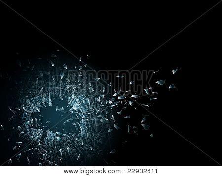 Broken Glass Wallpaper