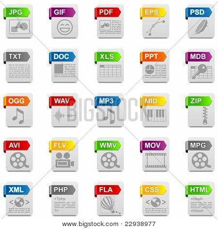 Iconos de archivo