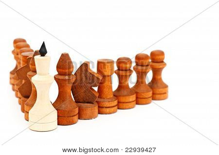 king of a chess game