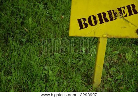 Border Sign
