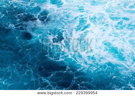 Ocean Wave. Natural background from Indian ocean.