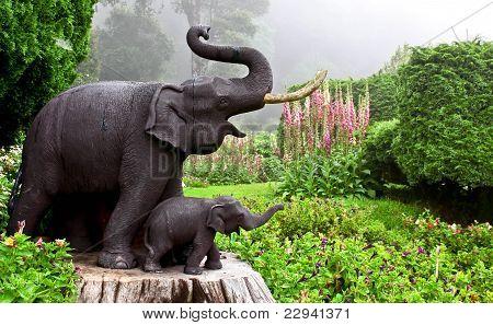 Elephant Statue.