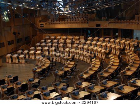 Scottish Parliment Chamber Rooom