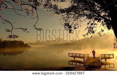 Amazing Landscape Of Da Lat City