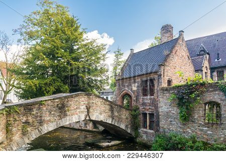 Bruges, Belgium - September 14, 2017: Bruges Is A Flemish City Of Belgium, In The Northwest Of The C