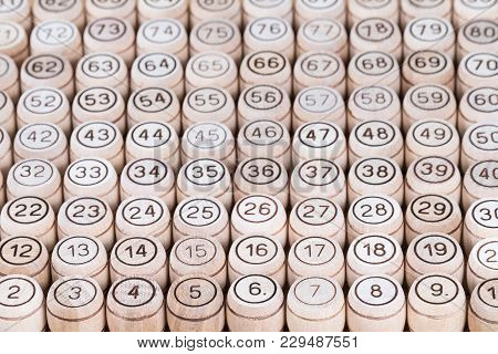 Layed Out In Ascending Order Of The Numbers Of The Keg From The Lotto Game