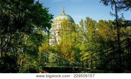 The Naval Cathedral Of St. Nicholas The Wonderworker St. Nicholas Naval Cathedral . Russian, Saint-p