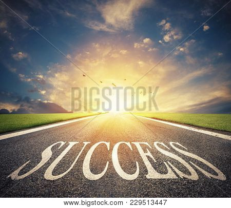 Road Of The Success. The Right Way For New Business Opportunities