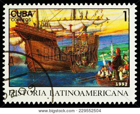 Columbus' Ship In Palos