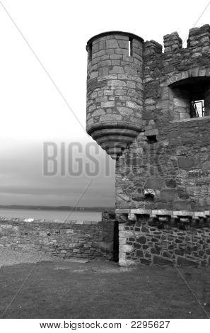 Black Ness Turret Wall