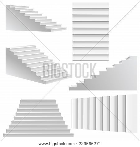 white stairs template vector photo free trial bigstock