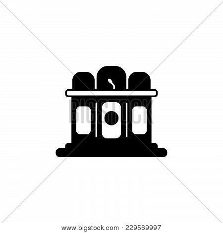 Jury Icon. Vector Illustration Black On White Background