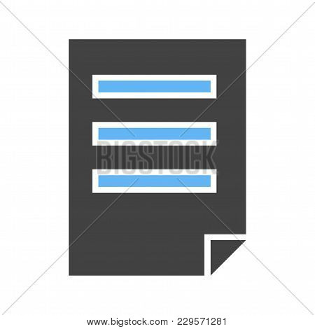 File, Document, Pdf Icon Vector Image.can Also Be Used For User Interface. Suitable For Mobile Apps,