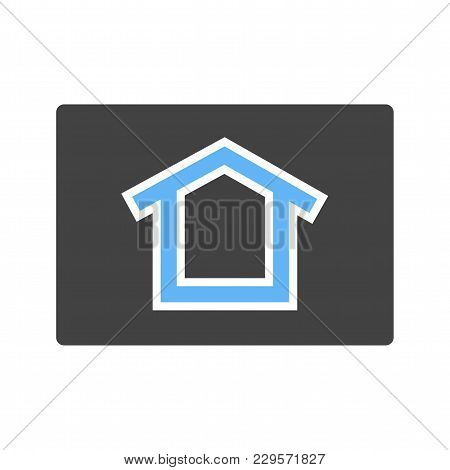 Google, Homepage, Connection Icon Vector Image.can Also Be Used For User Interface. Suitable For Mob
