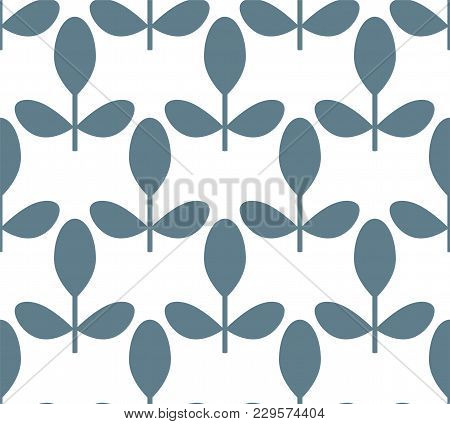 Floral Pattern For Surface Design In Scandinavian Style , Hygge, Transparent Background