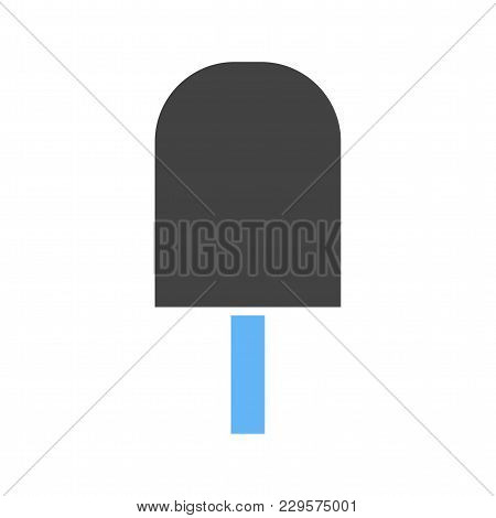 Ice Lolly, Sweet, Tasty Icon Vector Image. Can Also Be Used For Summer, Recreation And Fun. Suitable