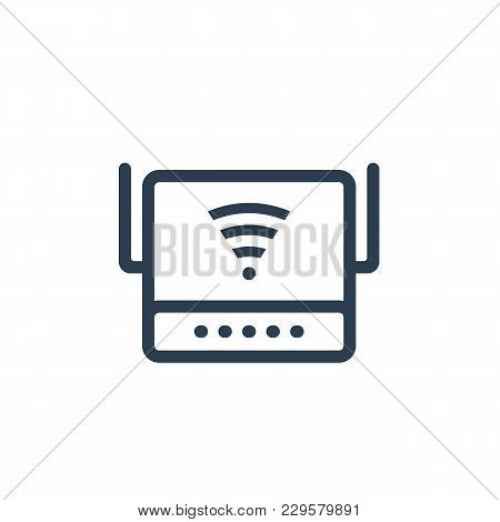 Router, Modem Icon, Eps 10 File, Easy To Edit