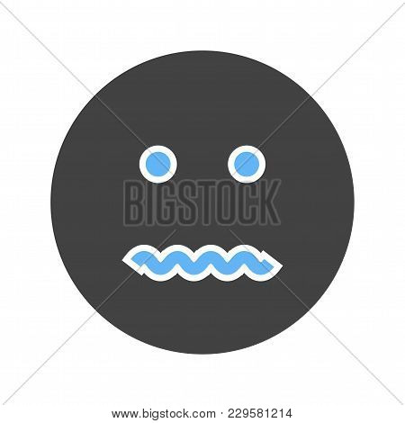 Cancel, Annulled, Dissolve Icon Vector Image. Can Also Be Used For Emotions And Smileys. Suitable Fo