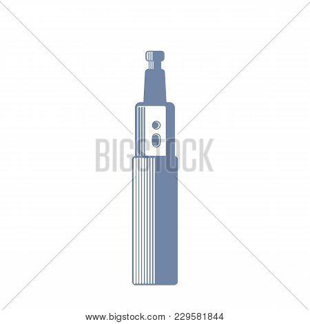 Electric Cigarette, E-cigarette, Vaporizer, Eps 10 File, Easy To Edit