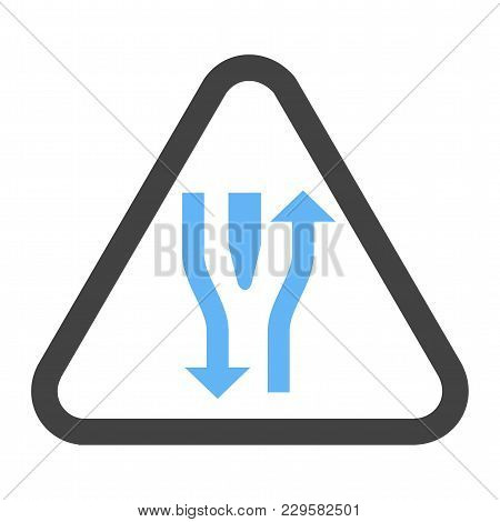 Road, Straight, Open Icon Vector Image. Can Also Be Used For Traffic Signs. Suitable For Web Apps, M