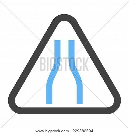 Sign, Road, Traffic Icon Vector Image. Can Also Be Used For Traffic Signs. Suitable For Web Apps, Mo