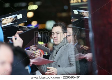 Tobias Menzies attends the 'The Terror' premiere during the 68th  Film Festival / Berlinale 2018 at Zoo Palast on February 21, 2018  in Berlin, Germany