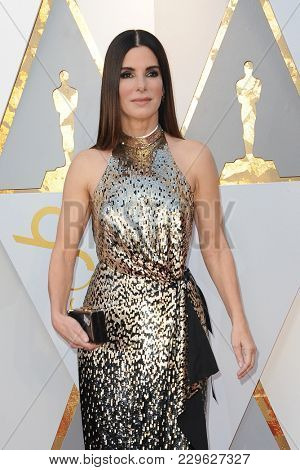 Sandra Bullock at the 90th Annual Academy Awards held at the Dolby Theatre in Hollywood, USA on March 4, 2018.