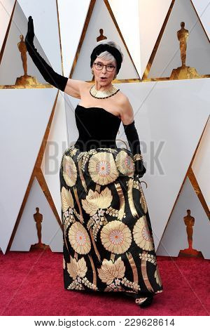 Rita Moreno at the 90th Annual Academy Awards held at the Dolby Theatre in Hollywood, USA on March 4, 2018.