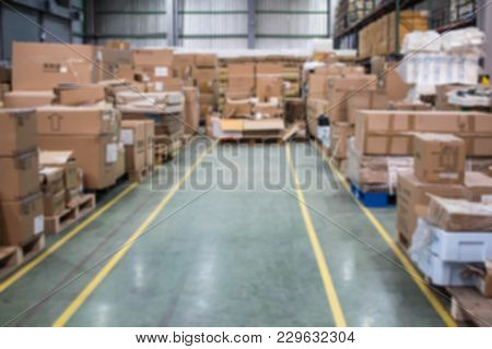 The Box Is Keep Unsettled On Warehouse
