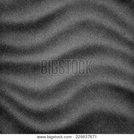 Abstract Asphalt Waves Texture As A Background