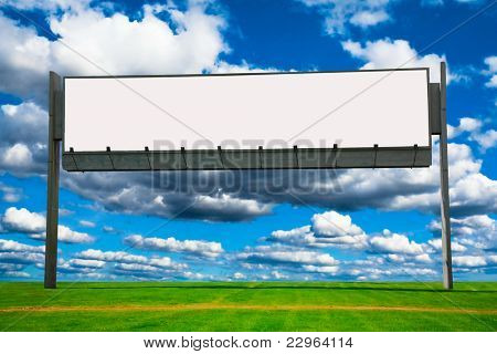 White Canvas Giant Poster