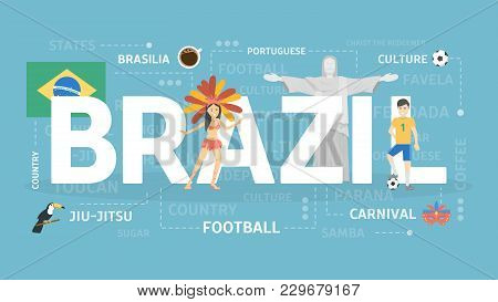 Welcome To Brazil. Visit South American Country.